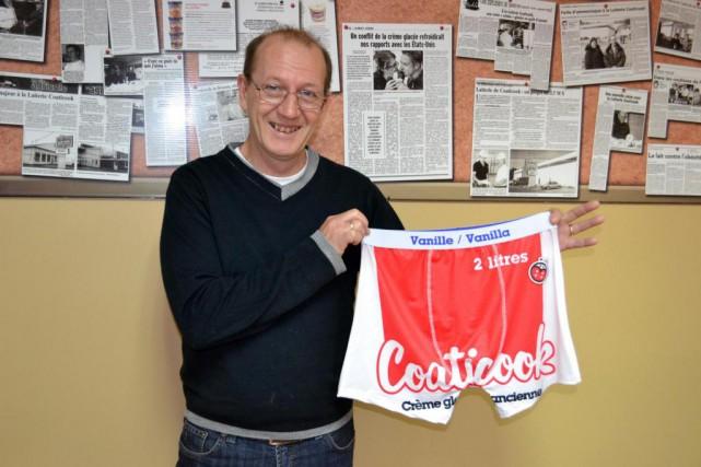Leprésident de la Laiterie de Coaticook, Jean Provencher.... (Photo fournie par Coaticook)