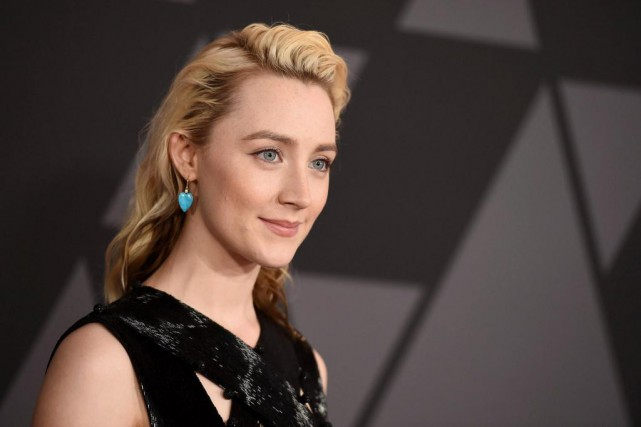 L'actrice Saoirse Ronan joue une adolescente de 15... (PHOTO JORDAN STRAUSS, ASSOCIATED PRESS)