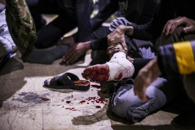 Sur les 340000 morts en Syrie depuis 2011,... (Photo AFP)