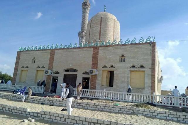 L'attaque s'est produite dans le village de Bir... (PHOTO AFP)