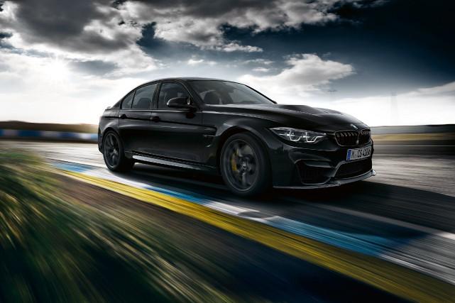 La BMW M3 CS... (La Presse)