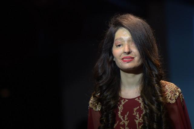 Reshma Qureshi est l'une des participantes à ce... (PHOTO DOMINIQUE FAGET, AFP)