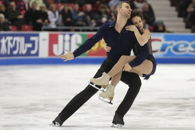 Eric Radford et Meagan Duhamel... (PHOTO Julie Jacobson, AP)