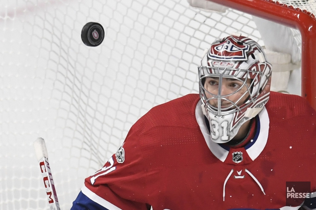 Carey Price a tenu bon devant le filet.... (PHOTO BERNARD BRAULT, LA PRESSE)