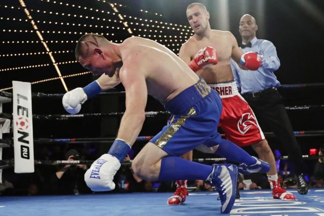 Vyacheslav Shabranskyy etSergey Kovalev.... (Photo Frank Franklin II, Associated Press)