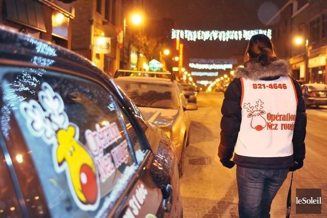 La campagne de recrutement des bénévoles pour la 34eOpération Nez rouge est... (Photo archives Le Soleil)