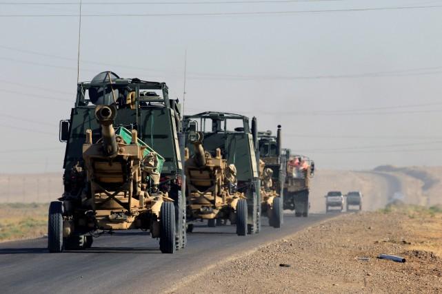 L'offensive lancée il y a quatre jours est... (Photo Alaa Al-Marjani, archives REUTERS)