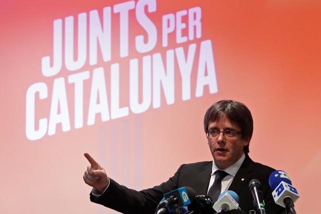 Carles Puigdemont... (Photo Yves Herman, REUTERS)