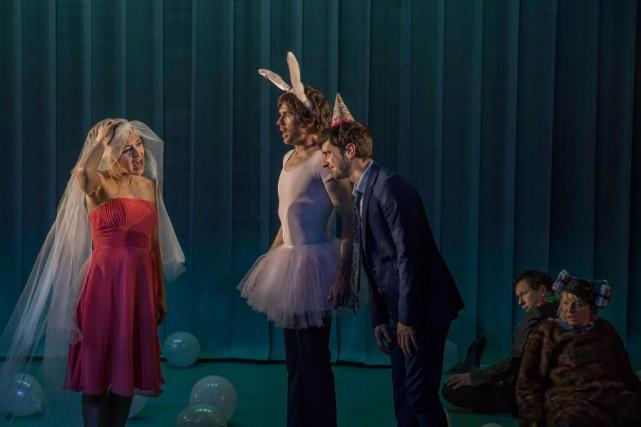 La production du Groupe La Veillée est portée... (Photo fournie par Nicolas Descôteaux)