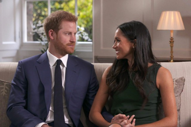 La relation entre Harry et Meghan, débutée en... (Photo Associated Press)