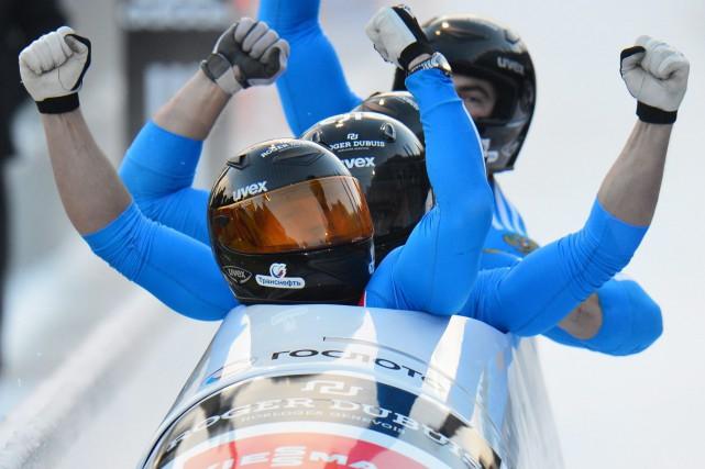 Aleksei Negodailo et Dimitri Trunenkov faisaient partie de... (Photo Kerstin Joensson, archives AP)
