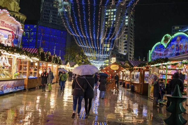 Le marché sera fermé le 19 décembre pour... (PHOTO AP)