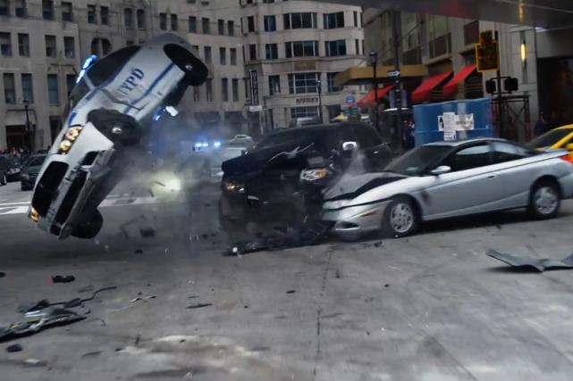 Dans un film récent de la série Fast... (Photo tirée de la bande-annonce de Fast and furious 8)