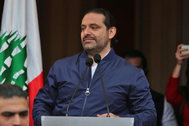 Saad Hariri, qui avait dit depuis Riyad craindre... (ARCHIVES AFP)