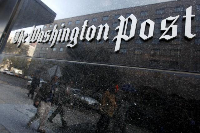 Le Washington Post a révélé lundi avoir déjoué les plans d'une fausse... (ARCHIVES AP)