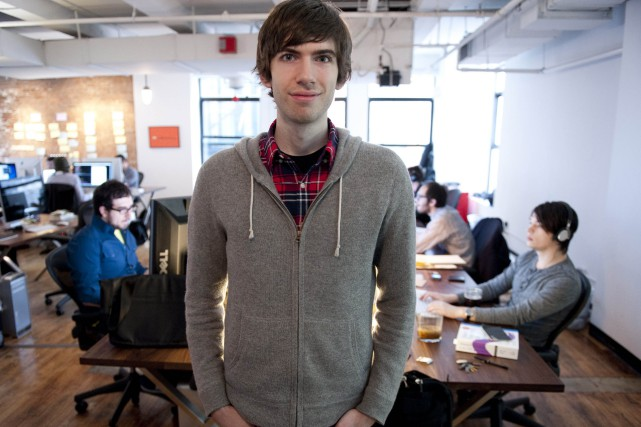 David Karp a fondé Tumblr à New York... (ARCHIVES AFP)