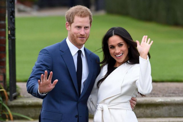 Le prince Harry et Meghan Markle se marieront... (PhotoMatt Dunham, Associated Press)