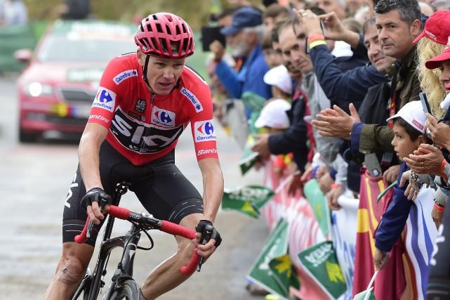 Quadruple vainqueur du Tour de France, Chris Froome... (Photo Jose Jordan, archives AFP)