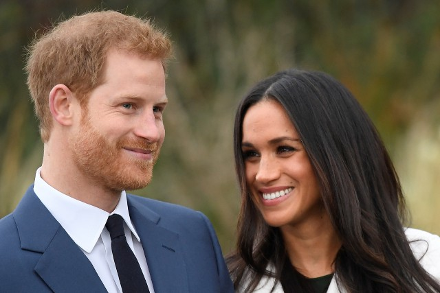 Le prince Harry et Meghan Markle.... (PHOTO Toby Melville, REUTERS)