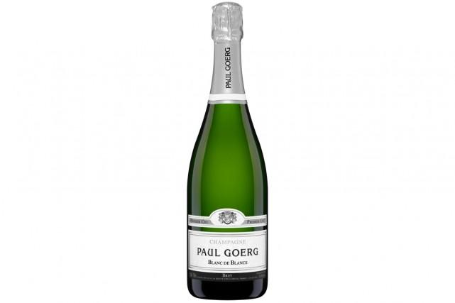 Paul Goerg Blanc de Blancs, 46,25 $ (11766597)... (Photo fournie par la SAQ)