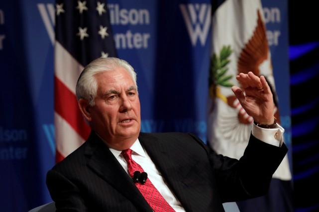 Rex Tillerson, lui-même considéré comme un «ami» de... (PHOTO REUTERS)