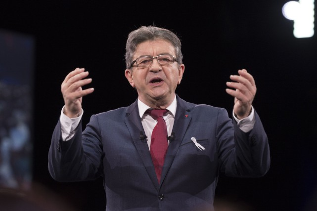 Jean-Luc Mélenchon... (Photo Thierry Zoccolan, AFP)