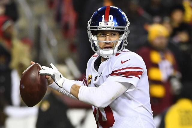 Eli Manning... (Photo Brad Mills, USA Today Sports)