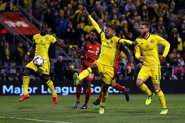 Match opposant le Toronto FC au Crew de... (PHOTO REUTERS)