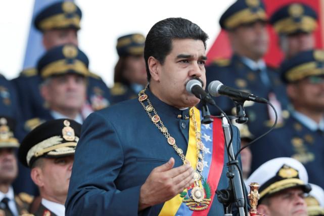 Le président vénézuélien Nicolas Maduro a étéélu en... (PHOTO REUTERS/GOUVERNEMENT VÉNÉZUÉLIEN)