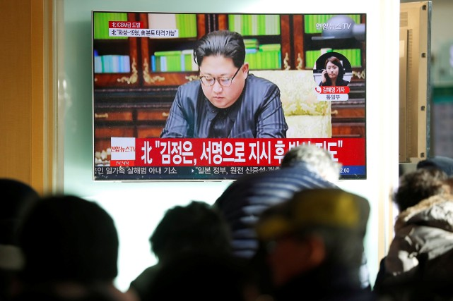 «Kim Jong-Un a déclaré avec fierté que nous... (REUTERS)