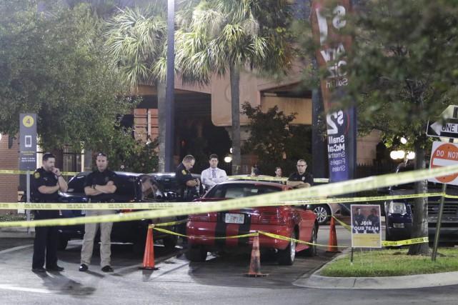 Le meurtrier présumé, âgé de 24 ans, a... (AP)