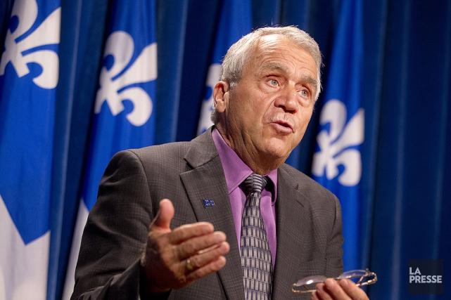 Le député péquiste d'Abitibi-Ouest François Gendron, vice-président de... (PHOTO IVANOH DEMERS, ARCHIVES LA PRESSE)