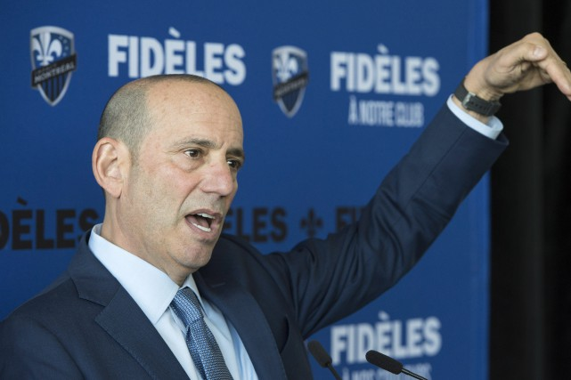 Le commissaire de la MLS, Don Garber.... (Photo Paul Chiasson, archives PC)