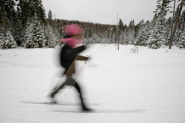 Le parc régional Montagne du Diable a été... (Photo David Boily, La Presse)