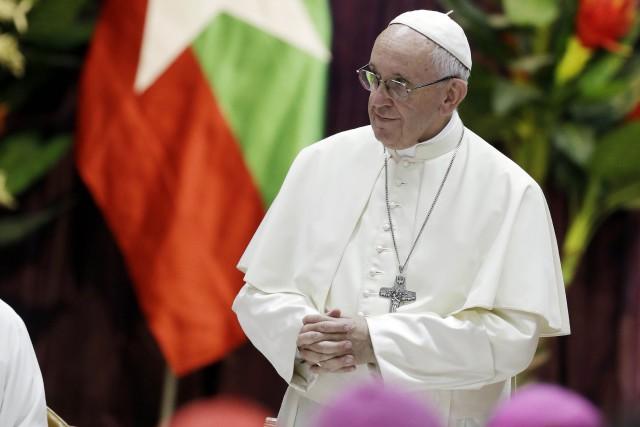 Pour le pape, toute la société doit «participer... (PHOTO Andrew Medichini, AFP)