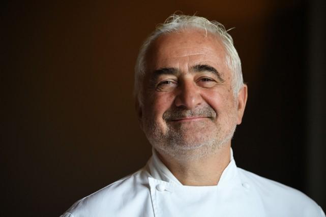 Le chef Guy Savoy est propriétaire du restaurant... (PHOTO ARCHIVES AFP)