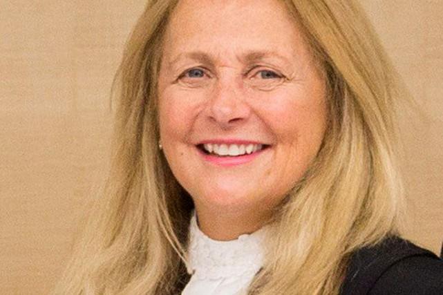 Sheilah Martin, dans une photo non datée de... (Photo fournie par l'Université de Calgary)