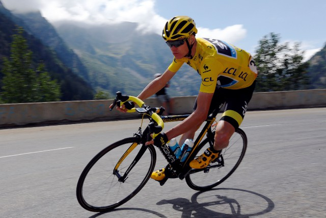 Chris Froome... (Photo Stefano Rellandini, archives Reuters)