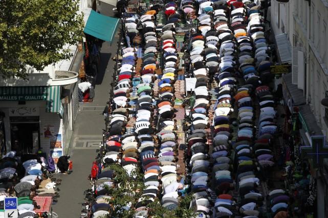 Les musulmans de France, évalués à 5,7 millions... (ARCHIVES AP)