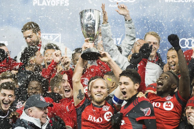 En finale de la Coupe MLS, le 9... (Photo Nathan Denette, LA PRESSE CANADIENNE)