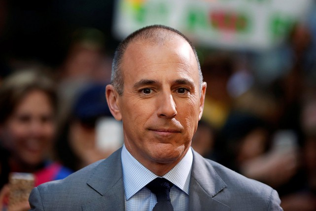 Matt Lauer, en 2013.... (archives REUTERS)