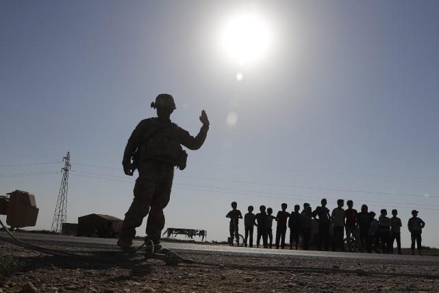 «Plus de 400 Marines se préparent à rentrer... (Photo AP)