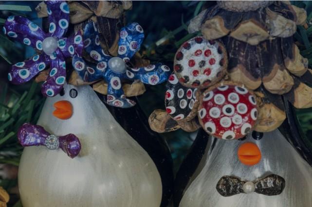 Une quarantaine d'artisans récupérateurs sont réunis cette fin de semaine à... (CAPTURE D'ÉCRAN)