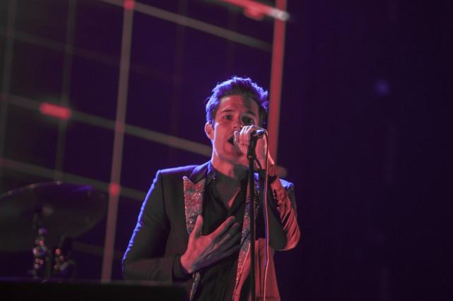 Le groupe The Killers sera l'une des têtes... (PHOTO Julio Cesar AGUILAR, ARCHIVES AFP)