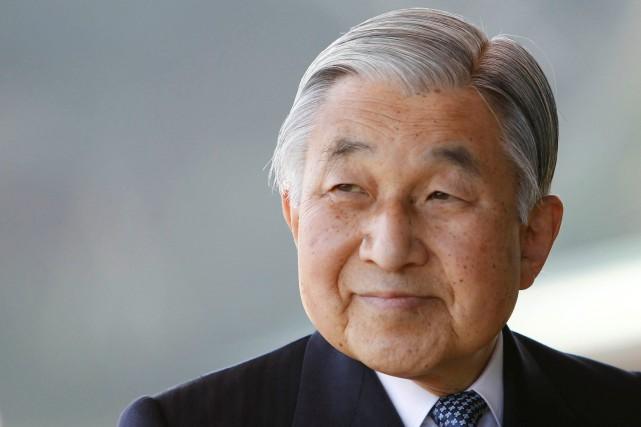 L'empereur Akihitoavait choqué le pays l'an dernier lorsqu'il... (PHOTO Kim Kyung-Hoon, REUTERS)