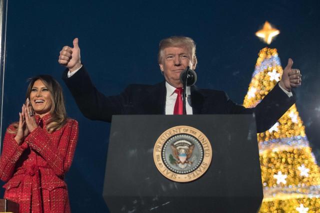 Le président des États-Unis, Donald Trump... (photo NICHOLAS KAMM, AFP)