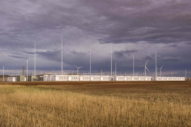 La batterie, d'une capacité de 100 MW/129 MWh,... (PHOTO FOURNIE PAR Neoen)
