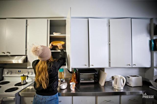 Les jeunes hébergés à la maison ASPIRE peuvent... (PHOTO PATRICK SANFAÇON, LA PRESSE)