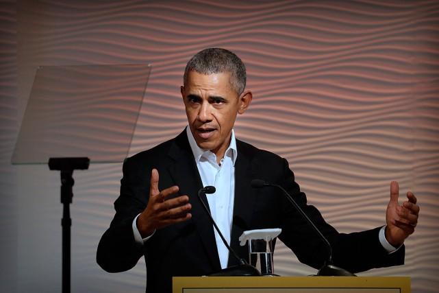 Barack Obama est monté au créneau pour défendre... (PHOTO MANISH SWARUP, ASSOCIATED PRESS)