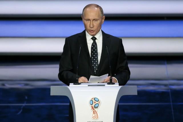 Le président russe Vladimir Poutine.... (Photo Ivan Sekretarev, AP)